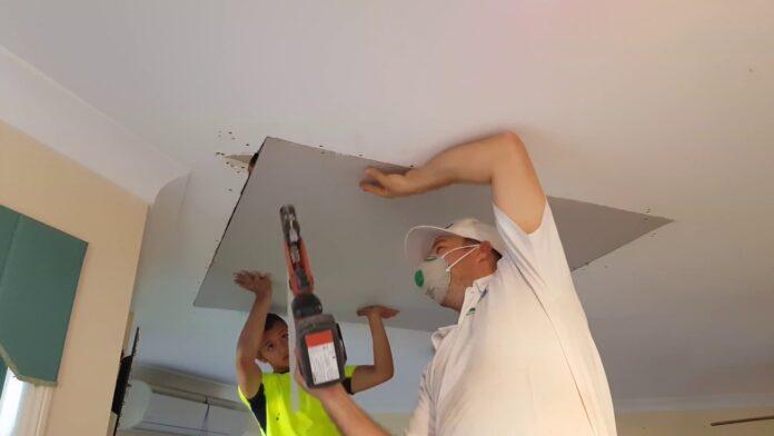 Drywall Ceiling repair