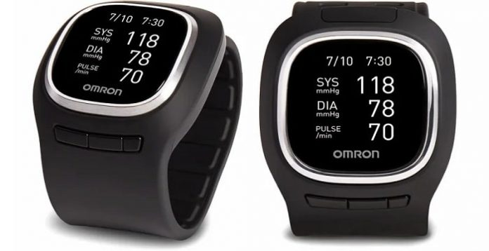 smart watch with blood pressure tracker