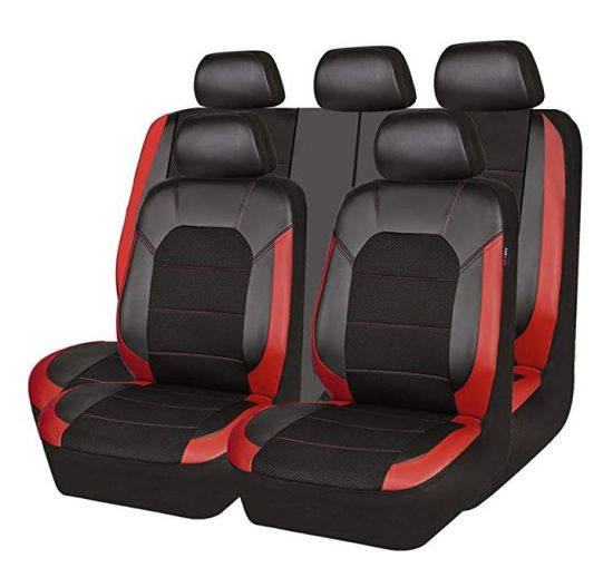 red and black seat covers